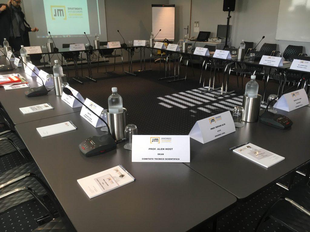 JM Board Meeting 1